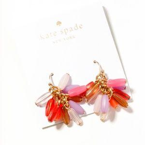 kate spade color stones tussle earrings